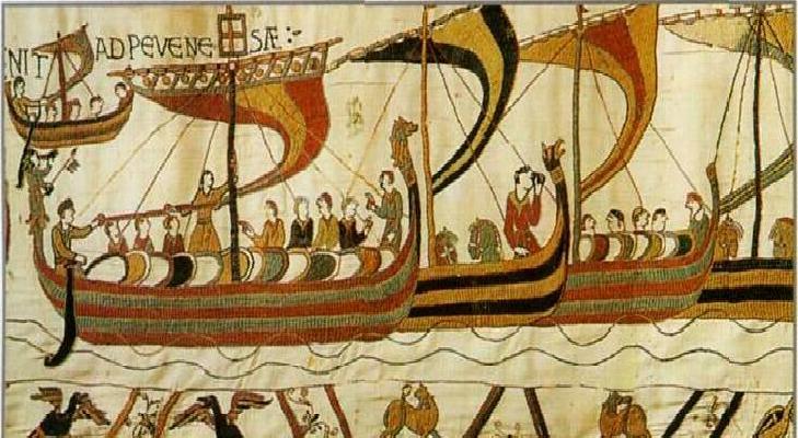 Tapisserie de Bayeux - détail